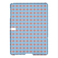 Pastel Mod Blue Orange Circles Samsung Galaxy Tab S (10 5 ) Hardshell Case  by BrightVibesDesign