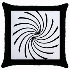 Merge Throw Pillow Case (black) by JMMMedia