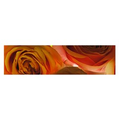 Orange Roses Satin Scarf (oblong) by bloomingvinedesign