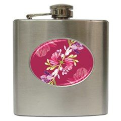 Motif Design Textile Design Hip Flask (6 Oz) by Simbadda