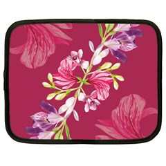 Motif Design Textile Design Netbook Case (large)
