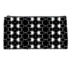Black And White Pattern Pencil Cases by Simbadda
