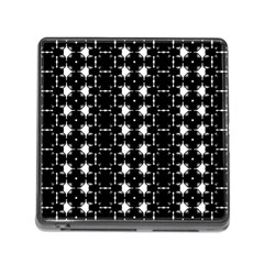 Black And White Pattern Memory Card Reader (square 5 Slot)