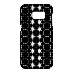 Black And White Pattern Samsung Galaxy S7 Hardshell Case