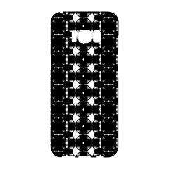 Black And White Pattern Samsung Galaxy S8 Hardshell Case