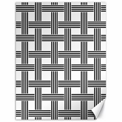 Seamless Stripe Pattern Lines Canvas 18  X 24
