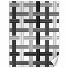 Seamless Stripe Pattern Lines Canvas 36  X 48