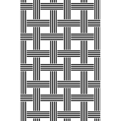 Seamless Stripe Pattern Lines 5 5  X 8 5  Notebook