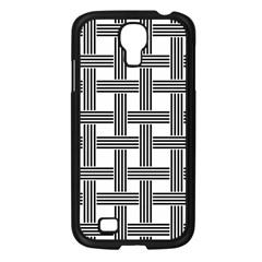 Seamless Stripe Pattern Lines Samsung Galaxy S4 I9500/ I9505 Case (black)