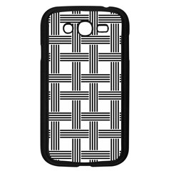 Seamless Stripe Pattern Lines Samsung Galaxy Grand Duos I9082 Case (black)