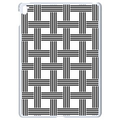 Seamless Stripe Pattern Lines Apple Ipad Pro 9 7   White Seamless Case