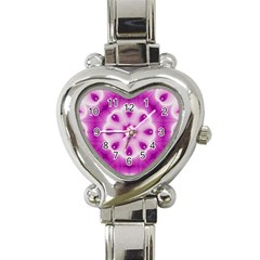 Pattern Abstract Background Art Heart Italian Charm Watch