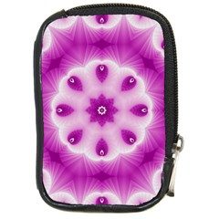 Pattern Abstract Background Art Compact Camera Leather Case