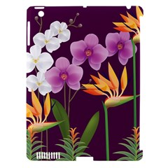 White Blossom Flower Apple Ipad 3/4 Hardshell Case (compatible With Smart Cover) by Simbadda