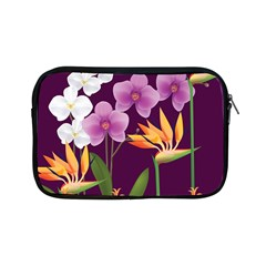 White Blossom Flower Apple Ipad Mini Zipper Cases by Simbadda