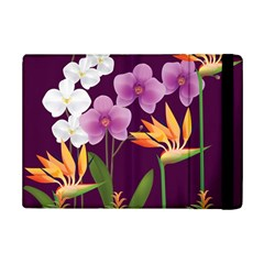 White Blossom Flower Ipad Mini 2 Flip Cases by Simbadda