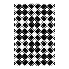 Square Diagonal Pattern Seamless Shower Curtain 48  X 72  (small)  by Simbadda