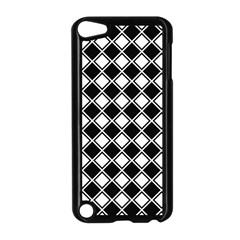 Square Diagonal Pattern Seamless Apple Ipod Touch 5 Case (black)
