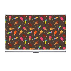 Ice Cream Pattern Seamless Business Card Holder