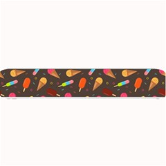 Ice Cream Pattern Seamless Small Bar Mats by Simbadda