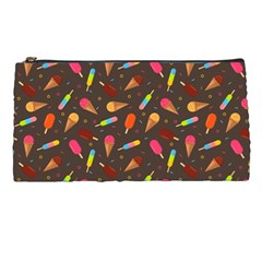Ice Cream Pattern Seamless Pencil Cases by Simbadda