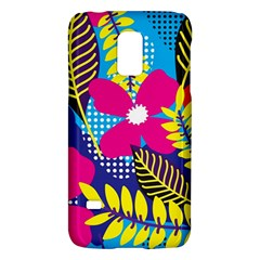 Design Decoration Decor Floral Pattern Samsung Galaxy S5 Mini Hardshell Case