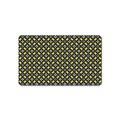 Flower Pattern Pattern Texture Magnet (name Card)