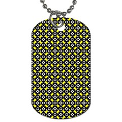 Flower Pattern Pattern Texture Dog Tag (two Sides) by Simbadda