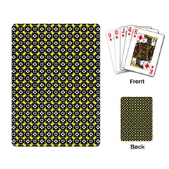 Flower Pattern Pattern Texture Playing Cards Single Design
