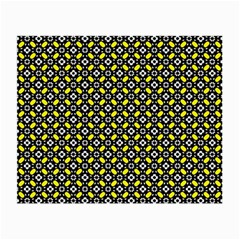 Flower Pattern Pattern Texture Small Glasses Cloth (2 Side)