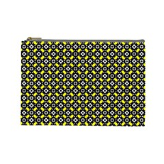 Flower Pattern Pattern Texture Cosmetic Bag (large)