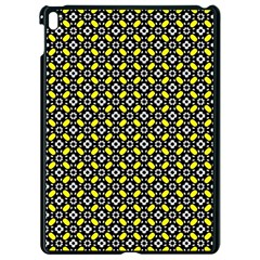 Flower Pattern Pattern Texture Apple Ipad Pro 9 7   Black Seamless Case