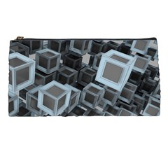 Cube Fantasy Square Shape Pencil Cases by Simbadda