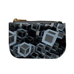 Cube Fantasy Square Shape Mini Coin Purse