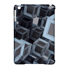 Cube Fantasy Square Shape Apple Ipad Mini Hardshell Case (compatible With Smart Cover)