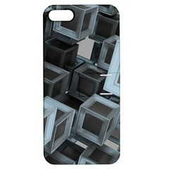 Cube Fantasy Square Shape Apple Iphone 5 Hardshell Case With Stand