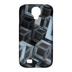 Cube Fantasy Square Shape Samsung Galaxy S4 Classic Hardshell Case (pc+silicone)
