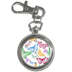 Butterfly Butterflies Vintage Key Chain Watches