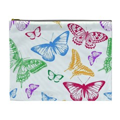 Butterfly Butterflies Vintage Cosmetic Bag (xl)