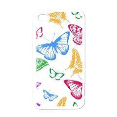 Butterfly Butterflies Vintage Apple Iphone 4 Case (white)