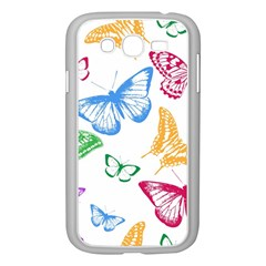 Butterfly Butterflies Vintage Samsung Galaxy Grand Duos I9082 Case (white)