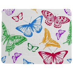 Butterfly Butterflies Vintage Jigsaw Puzzle Photo Stand (rectangular)