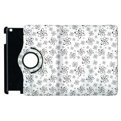 Atom Chemistry Science Physics Apple Ipad 2 Flip 360 Case