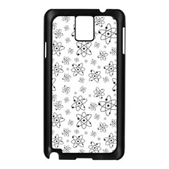 Atom Chemistry Science Physics Samsung Galaxy Note 3 N9005 Case (black)