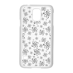 Atom Chemistry Science Physics Samsung Galaxy S5 Case (white)