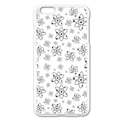 Atom Chemistry Science Physics Apple Iphone 6 Plus/6s Plus Enamel White Case