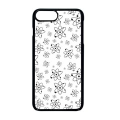 Atom Chemistry Science Physics Apple Iphone 8 Plus Seamless Case (black)