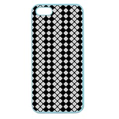 Black And White Texture Apple Seamless Iphone 5 Case (color)