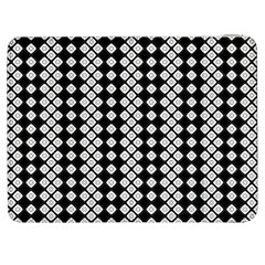 Black And White Texture Samsung Galaxy Tab 7  P1000 Flip Case