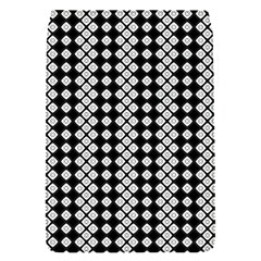 Black And White Texture Removable Flap Cover (s)